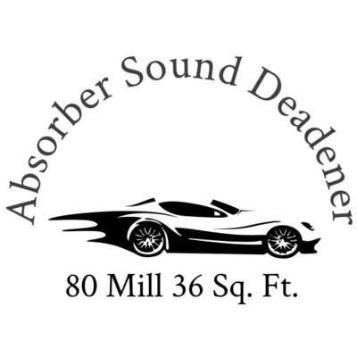 Absorber Sound Deadener  Insulation Free Shipping