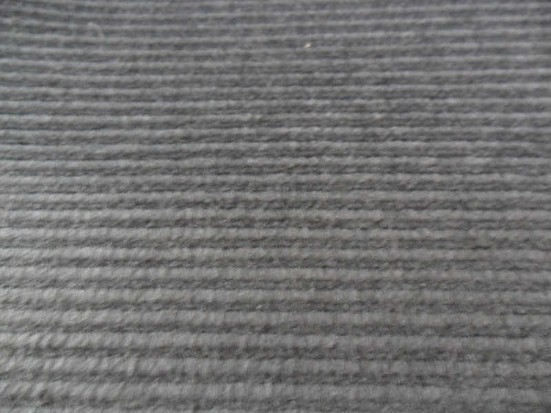 Grey Ribbed Body Cloth 439-B2