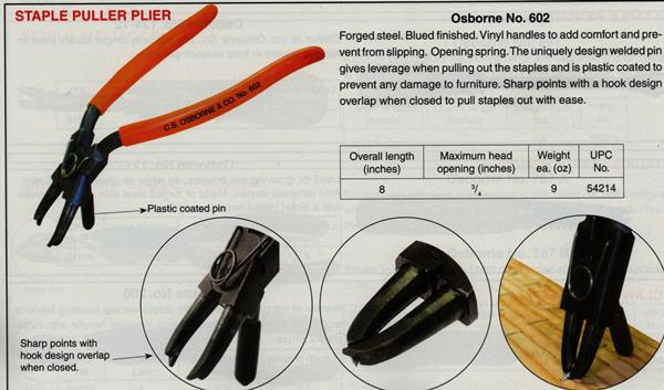 Osborne No. 602 Staple and Tack Lifter