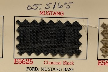 Mustang Charcoal Black