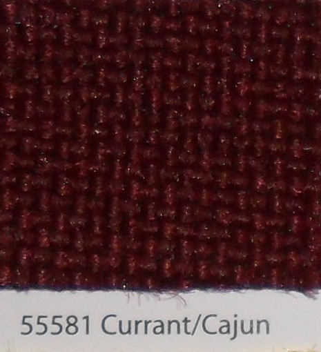55581 Currant/Cajun Tweed