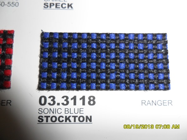 Stockton Sonic Blue 10 Yard Cut