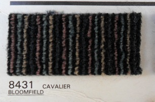 Multi Color Black Cavalier Body Cloth 265-B4