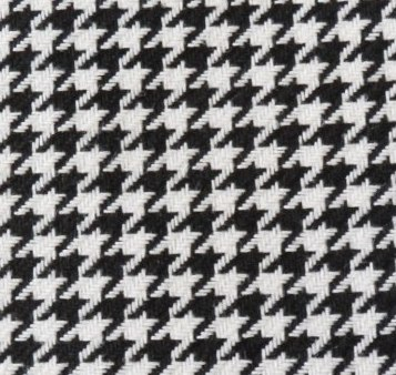 Houndstooth Black-White