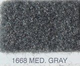 "1668 Med. Gray Flexform Carpet 80"" Wide"
