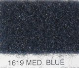 "1619 Med. Blue Flexform Carpet 80"" Wide"