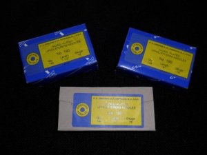 "Upholsterers Needles 3 1/2"" - Gross Pack"